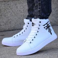 casual shoes, skateboardshoe, Plus Size, leather