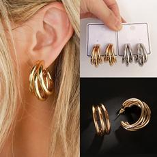 Hoop Earring, Dangle Earring, Joias, Stud Earring
