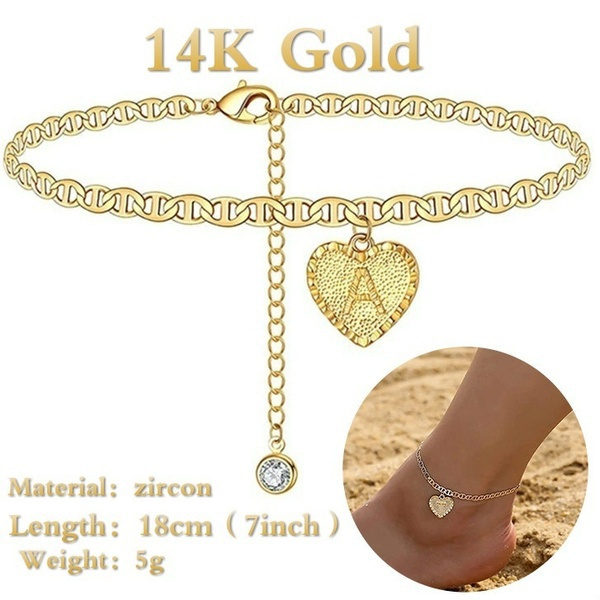 charmanklet, Jewelry, gold, cute