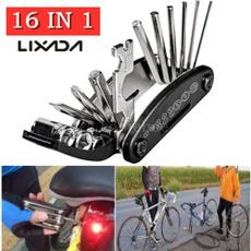 Mountain, wrenchscrewdriver, Bicycle, repairkit