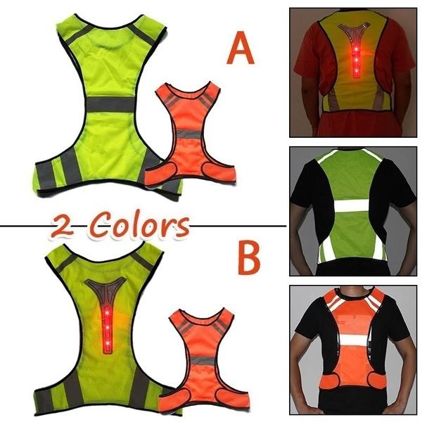 Vest, runningvest, Waterproof, safetyvest