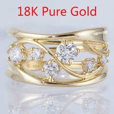 Boda, DIAMOND, Women Ring, gold