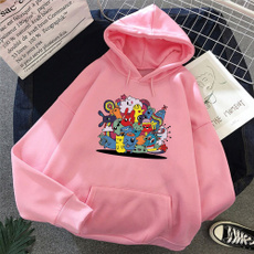 K-Pop, Long Sleeve, Harajuku, Funny hoodie
