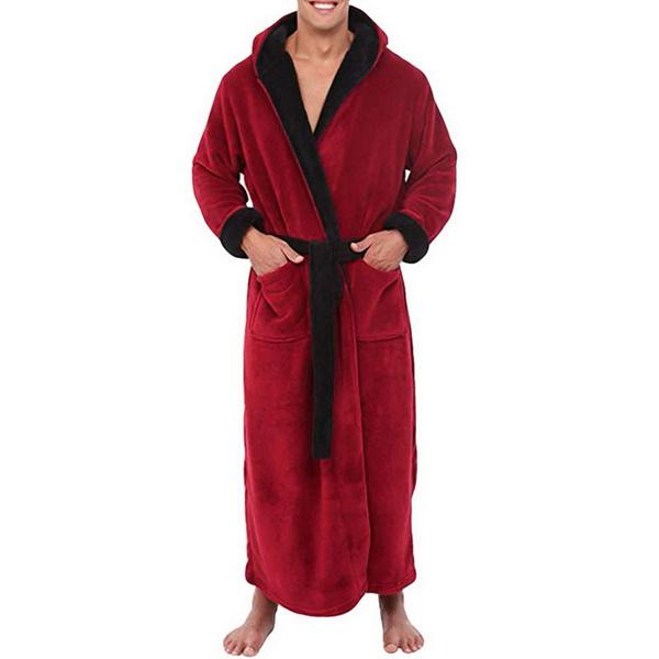 kimonobathrobe, Plush, belttowel, menbathrobe