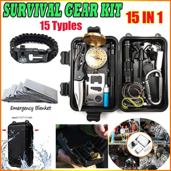 Flashlight, tacticalpen, sossurvivetool, camping