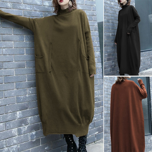 Fashion, sweater dress, Winter, solidcolorsweater