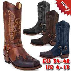 Plus Size, Winter, Cowboy, leather