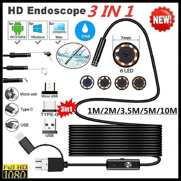 8MM, borescope, waterproofendoscope, Waterproof