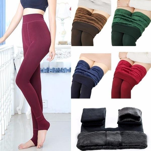 Leggings, velvet, Ladies Fashion, womens leggings