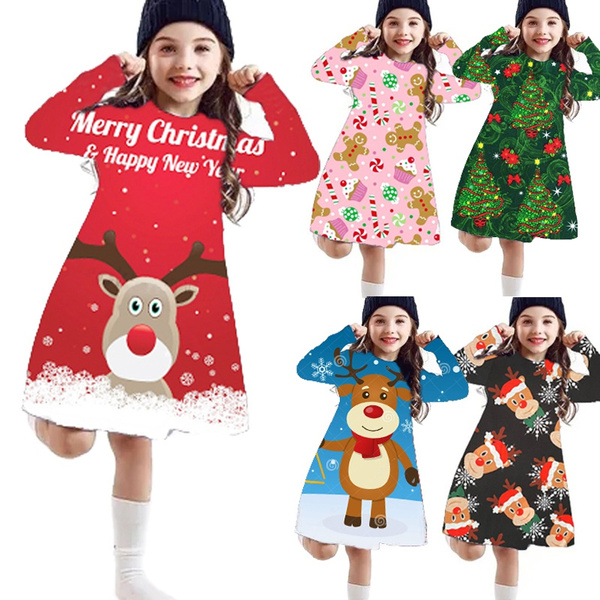cute, Christmas, printeddres, Princess