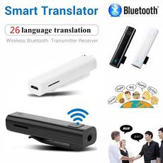 Mini, intelligenttranslation, bluetoothtransmitter, wirelessinterpreter