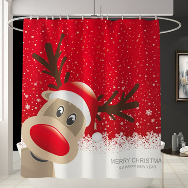 decoration, Bathroom, Polyester, Christmas