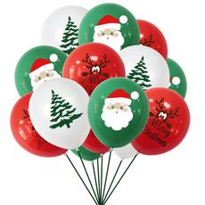 baloon, Christmas, ballon, latex
