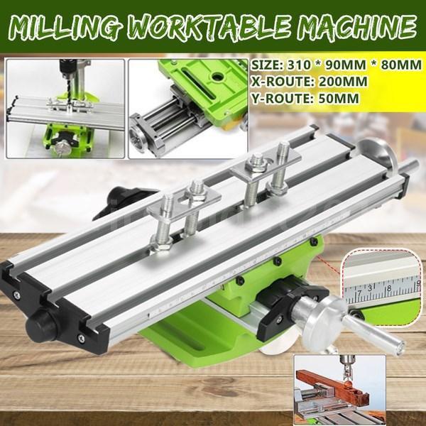 Mini, Adjustable, drillingslidetable, millingworkingbench