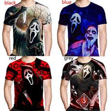 Tops & Tees, skull3dshirt, Fashion, Horror