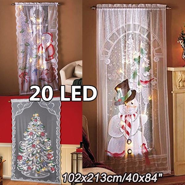 christmascurtain, led, Christmas, walldecoration