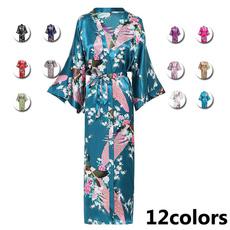 women's pajamas, kimonobathrobe, longrobe, gowns