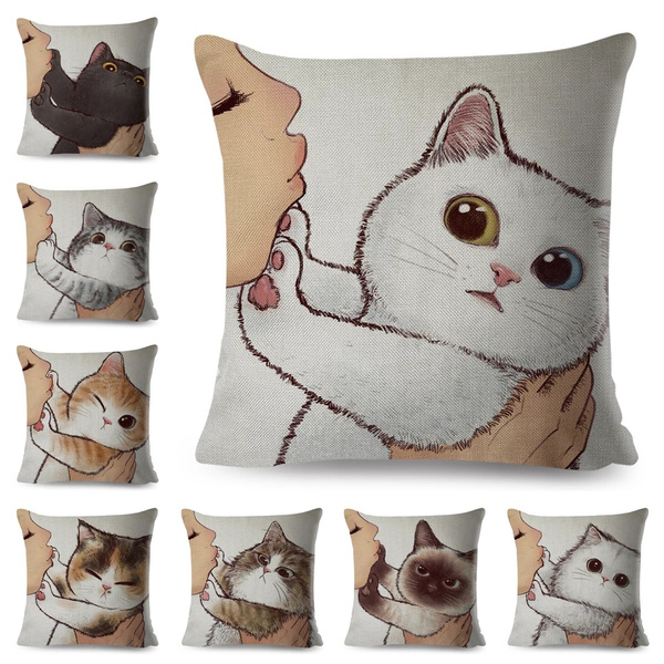 cutecatpillowcase, Love, Home Decor, cute