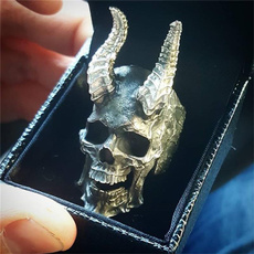Steel, men_rings, Goth, devils
