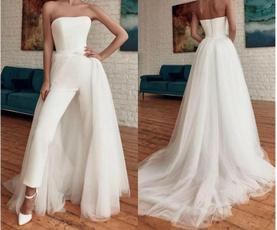 Wedding Accessories, Dress, detachabletrain, Women's Fashion