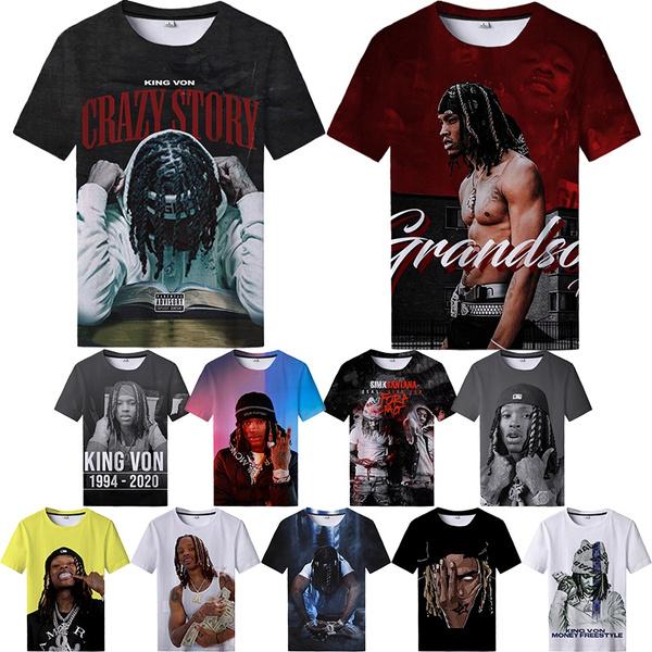 Mens T Shirt, Fashion, printed, kingvon