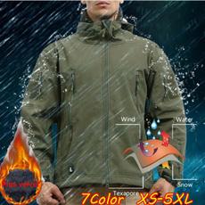 Outdoor, hoodedjacket, Men, Jackets for men