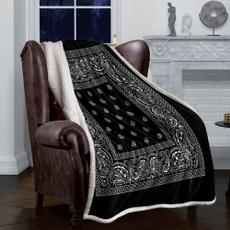 Fleece, flannelblanket, bedclothe, blanketforbed