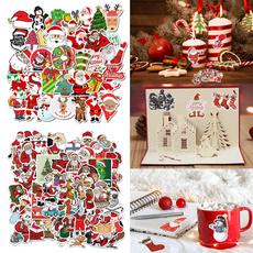 snowman, Decor, Christmas, Santa Claus