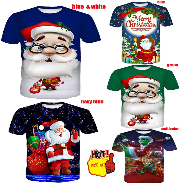 Shorts, Christmas, Sleeve, unisex