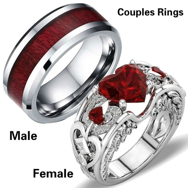 Sterling, Plus Size, Engagement Ring, Stainless Steel
