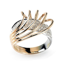 DIAMOND, Italy, wedding ring, gold