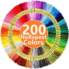 rainbow, dmc, embroiderythread, dmcthread