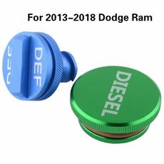 Dodge, Tank, Aluminum, Cap
