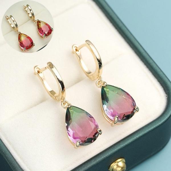 proposalearring, gold, Exquisite Earrings, wedding earrings