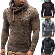 Fashion, Winter, tartansweater, pullover sweater