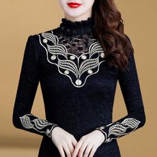 blouse, Plus Size, velvet, Shirt