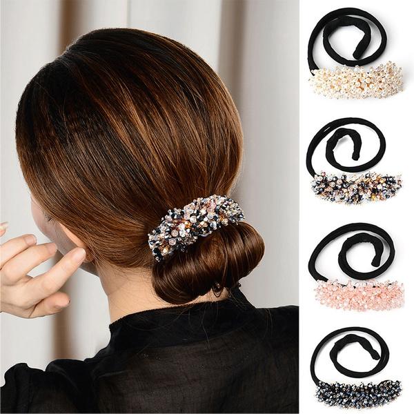 womenladie, Fashion, diytwistbundonut, headwear