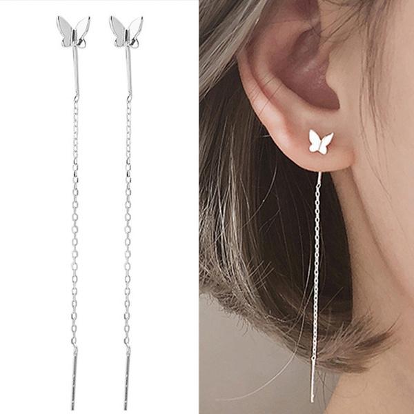 butterfly, earline, Tassels, Fashion