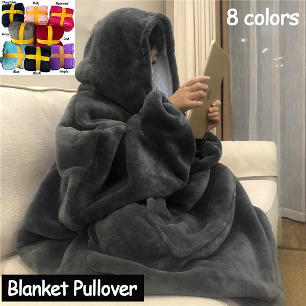 womenbathrobe, hooded, Winter, Fleece
