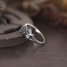 Sterling, Mujer, Engagement, flowerjewelry
