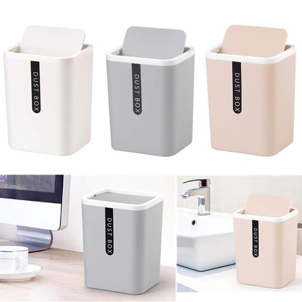Mini, portable, Office, garbagecan