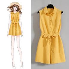 Summer, Shorts, korean style, onepiece