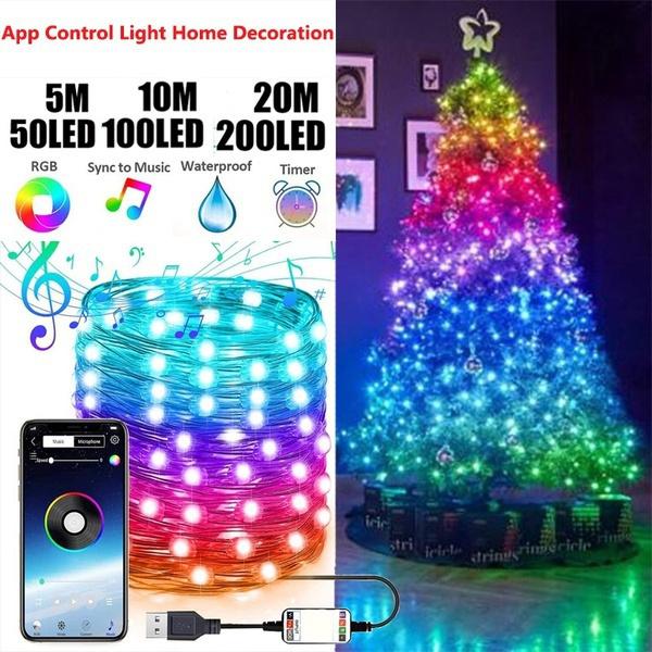 Tree, christmastreelight, LED Strip, colorlinelamp