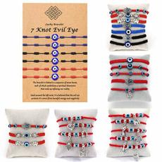 amuletbracelet, eye, diamondknot, Handmade
