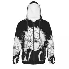 Fashion, unisex clothing, hoodedjacket, zipperjacket