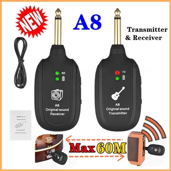 electronicguitaraccessorykit, wirelesstransmitterreceiverset, guitartransmitterreceiver, Bass