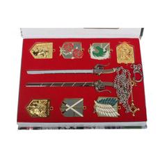 animeaotnecklace, Key Chain, sword, Chain