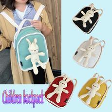 cute, casualbackpack, zipperbackpack, Cartoon Backpack