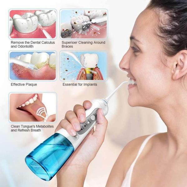 dentalwaterjet, Box, dentalflosser, Tank
