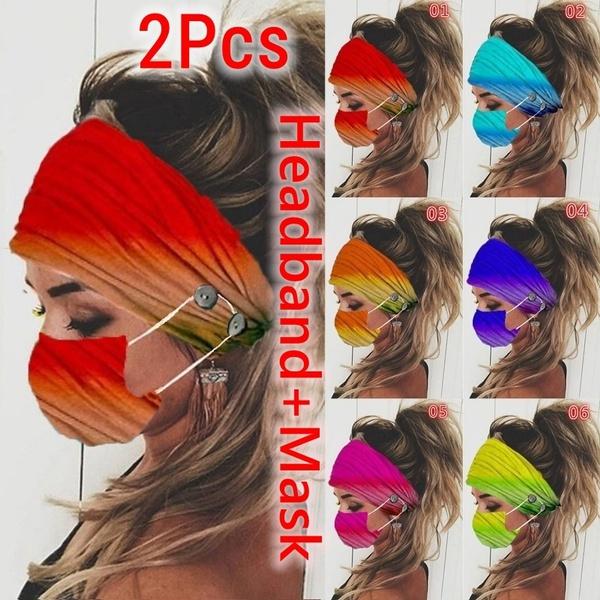 headbandandmask, Head, facemaskholder, Elastic